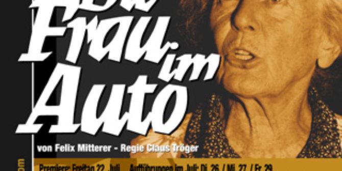 Die Frau im Auto