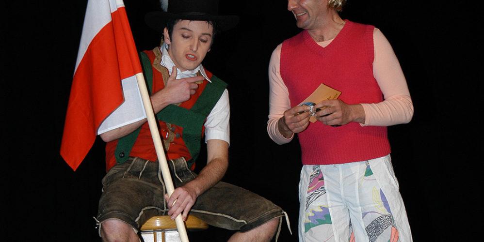 Sterzarett 2006 - Alex Schwazer mit Hansi Hinterseer