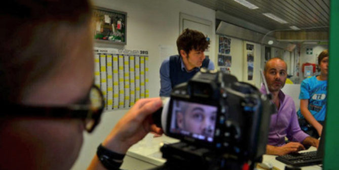 Kurzfilm Johannes-Giovanni, Setfoto
