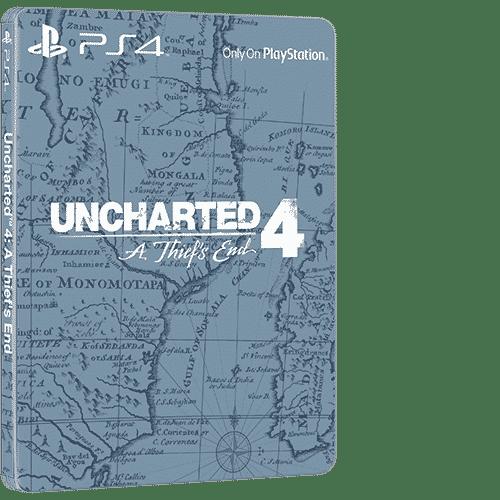Uncharted 4 Steelbook